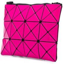 Bao Bao Issey Miyake - triangular embellishment satchel - women - Nylon/Polyester/Polyurethane/PVC - One Size - Grigio