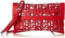 Liebeskind Berlin CLUTCHS 2D3D, Sacchetto Donna, Rosso (Rosso (summer red 3062)), 3x25x16 cm (B x H x T)