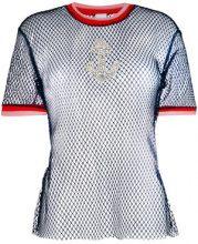 Pinko - T-shirt 'Carice' - women - Polyamide - S - Blu