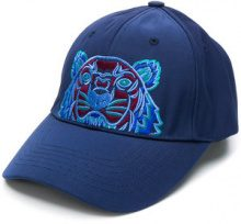 Kenzo - Tiger patch cap - women - Cotone/Polyester/Nylon - OS - Blu