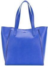 Hogan - Borsa Tote - women - Leather - OS - Blu