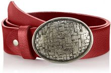 MGM Oval Mesh, Cintura Donna, Rosso (DKL.Rot-asi), 80 cm