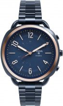 Stroili - Orologio Smartwatch Hybrid con cassa e cinturino in acciaio blu per Donna