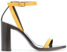Saint Laurent - Sandali 'Tanger' - women - Calf Leather/Leather - 36, 38, 39, 40 - Giallo & arancio