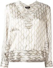 Isabel Marant - Simon blouse - women - Silk - 40 - Color carne & neutri