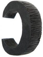 Uma - Raquel Davidowicz - Telha bracelet - women - rubber - One Size - Nero