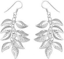 E-11470 - Orecchini pendenti da donna, argento