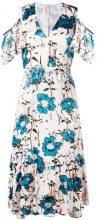 Antonio Marras - cold shoulder dress - women - Polyamide/Polyester/Spandex/Elastane/Viscose - 42 - Color carne & neutri