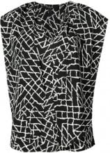 Derek Lam - Sleeveless Scarf Neck Top - women - Silk - 38, 40, 44, 46, 48, 50 - Nero