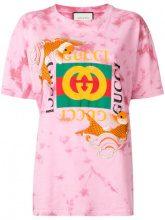 - Gucci - T - shirt ricamata - women - Cotone - S, M - rosa