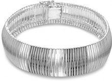 Tuscany Silver Bracciale da Donna in Argento Sterling 925, 19 cm