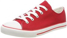 New Look Marked, Sneaker Donna, Red (Bright Red 60), 37 EU