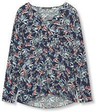 ESPRIT Collection 027eo1f001, Camicia Donna, Blu (Navy), 40