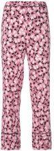 Marni - Pantaloni stampati 'Plume' - women - Viscose - 36, 42 - Rosa & viola