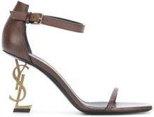 Saint Laurent - Opyum sandals - women - Leather - 36.5, 37.5, 38, 38.5, 39.5, 36, 35.5, 37, 40, 35, 39 - Marrone