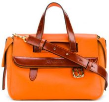 JW Anderson - Tool tote - women - Calf Leather - OS - YELLOW & ORANGE
