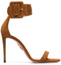 Aquazzura - Sandali 'Casablanca' - women - Leather/Suede - 37.5, 38.5, 39.5, 39, 36.5, 37, 38, 40, 41, 42 - Marrone