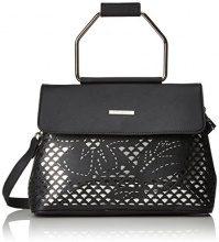 Bulaggi Tzabar Handbag - Borse a secchiello Donna, Schwarz, 12x21x28 cm (B x H T)