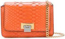 Visone - Borsa a tracolla 'Lizzy' - women - Snake Skin - OS - Giallo & arancio