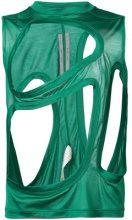 Rick Owens - Membrane T top - women - Silk - 44 - Verde