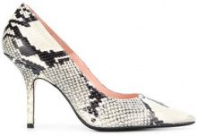 - Anna F. - snakeskin effect pumps - women - pelle - 38.5, 37, 39, 40, 36 - color carne