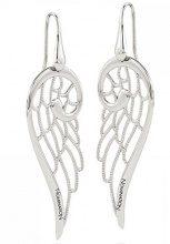 Nomination da Donna con Linguetta di orecchini grandi in argento 925–145306/010
