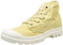 Palladium Pampa Hi, Sneaker a Collo Alto Donna, Giallo (Pampas/Écru K91), 37 EU