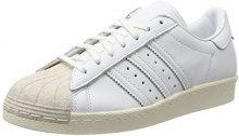 Adidas Superstar 80S Cork, Scarpe da Ginnastica Basse Donna, Bianco Footwear off White, 39 1/3 EU
