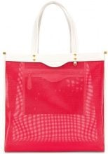 Anya Hindmarch - Borsa shopper - women - Leather/Polyester - One Size - RED