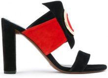 Neous - Sandali con fasce - women - Leather/Suede/metal - 36, 37, 40 - Nero