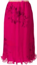 Antonio Marras - Gonna midi - women - Silk/Polyester/Cupro - 42 - Rosa & viola