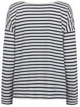 Bellybutton 2tlg. Set Still T-Shirt 1/1 Top o. Arm, Manica Lunga Donna, Mehrfarbig (y/d Stripe 0001), L