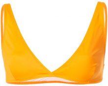Solid & Striped - Reggiseno bikini 'The Beverly' - women - Polyamide/Spandex/Elastane - M, L - YELLOW & ORANGE