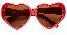 Moschino MO-58501-S, Occhiali da Sole Donna, Rosso (Red), 57