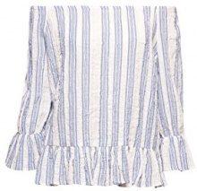 edc by Esprit 068cc1f005, Camicia Donna, Bianco (off White 110), Medium