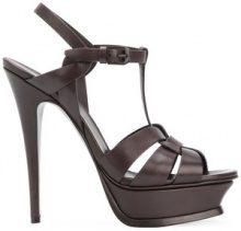 Saint Laurent - Tribute sandals - women - Calf Leather/Leather - 36.5, 37, 38, 39 - BROWN