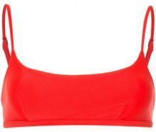 Matteau - The Crop bikini top - women - Nylon/Spandex/Elastane - 8, 12, 14 - Rosso