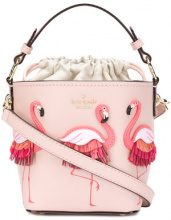 Kate Spade - flamingo embellished tote bag - women - Leather - OS - Rosa & viola