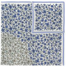 Christian Wijnants - floral print scarf - women - Silk - OS - WHITE