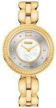 - Fendi - Fendi My Way watch - women - Fox Fur/Diamond/metal - Taglia Unica - Metallizzato