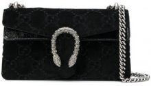- Gucci - Dionysus GG velvet small shoulder bag - women - Velvet/Leather - Taglia Unica - Nero