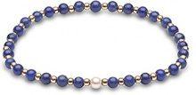 Kimura Pearls Bracciale elastico Donna oro_giallo - A-AMLAP004