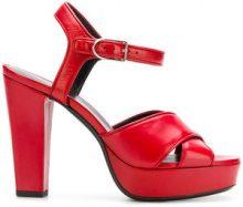 Sonia Rykiel - Mme Rykiel sandals - women - Calf Leather/Goat Skin/Lamb Skin - 36, 37, 38, 39, 40, 35, 36.5, 37.5, 39.5, 40.5 - Rosso
