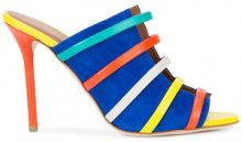 Malone Souliers - strappy slip-on mules - women - Suede/Leather - 38, 39, 40, 41, 36.5, 40.5 - Multicolore