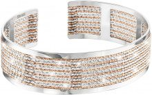 Bracciale bangle medium in bronzo bicolore