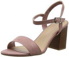 New Look Wide Foot Passion, Sandali Punta Aperta Donna, Rosa (Light Pink 70), 40 EU