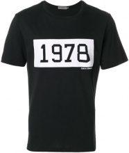 - Calvin Klein Jeans - T - shirt 'Takani' - men - Cotone - XL, XXL - Nero