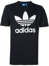 - Adidas - T - shirt 'Trefoil' - men - cotone - S, M - di colore nero