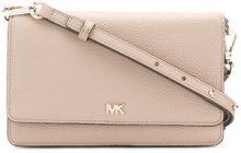 - Michael Michael Kors - smartphone crossbody bag - women - pelle - Taglia Unica - color carne