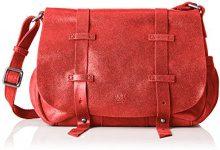 Mila Louise Borsa a spalla Donna, Rosso (Rosso (Rubi 3017S-52)), 9x20x23 cm (W x H x L)